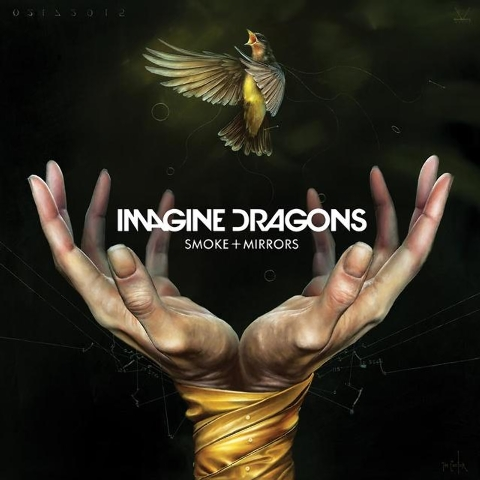"""Smoke + Mirrors"" album cover. Courtesy (Imagine Dragons/Facebook)"
