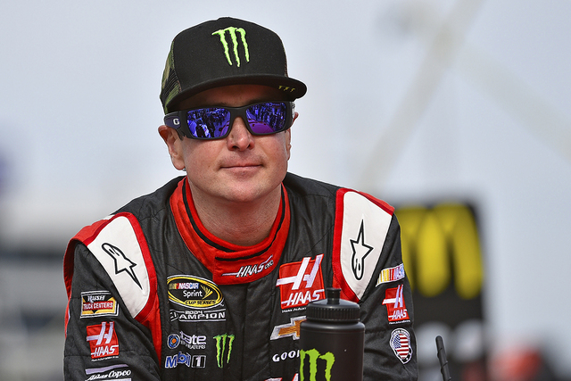 Nov 2, 2014; Fort Worth, TX, USA; NASCAR Sprint Cup Series driver Kurt Busch (41) before the AAA Texas 500 at Texas Motor Speedway. (Jasen Vinlove-USA TODAY Sports)