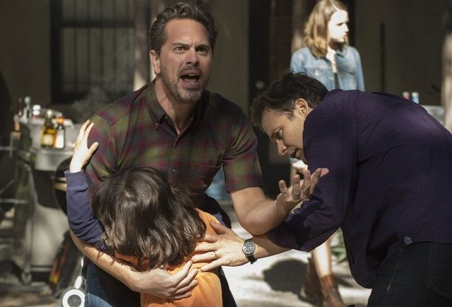 "NBC broaches a hot topic with its eight-part miniseries, ""The Slap,"" about a family barbecue gone awry."