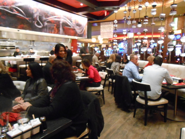 The interior of 8 Noodle Bar is shown at Red Rock Resort, 11011 W. Charleston Blvd., Jan. 13, 2015. (Jan Hogan/View) (Click for more photos)