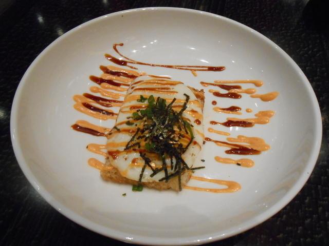 Shrimp toast is shown at 8 Noodle Bar. (Jan Hogan/View)