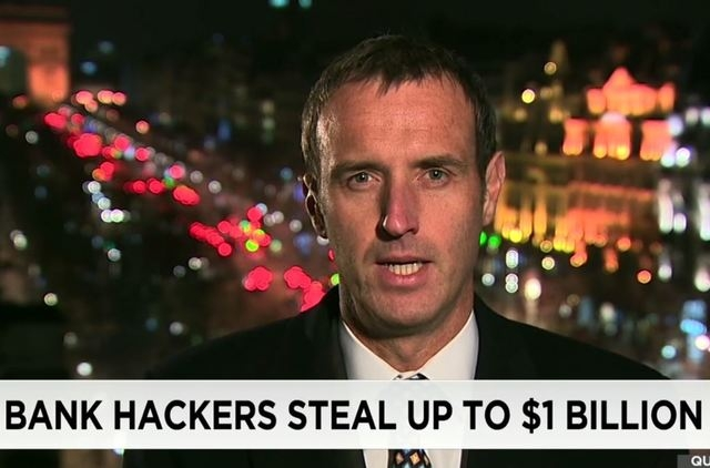 The individual thefts involved no more than $10 million apiece. (Screengrab, CNN)