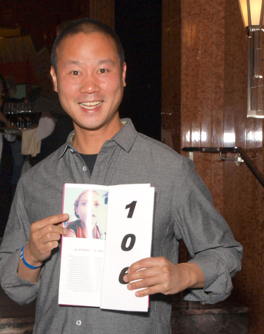 Tony Hsieh (Marian Umhoefer/Las Vegas Review-Journal)