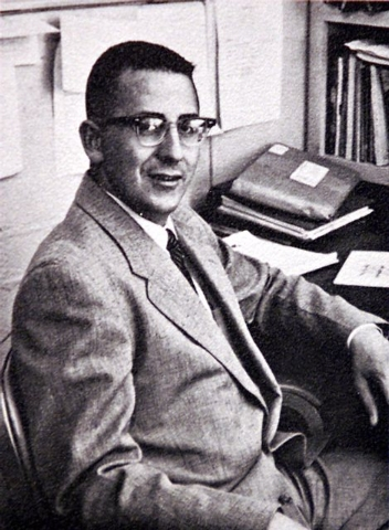 Professor James Deacon, show in a 1961 UNLV yearbook photo. (Special to the Las Vegas Review-Journal)