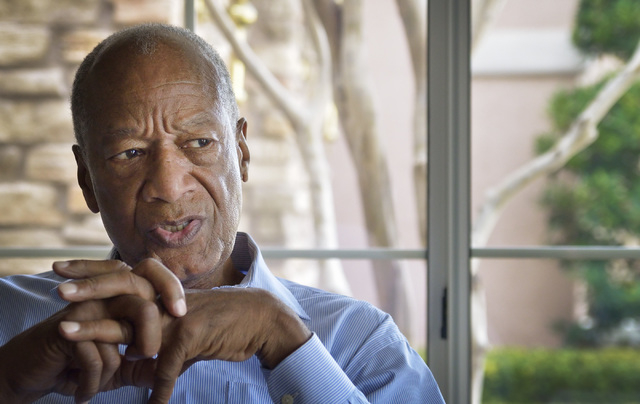 Dr. Robert Green, who served as Dr. Martin Luther King Jr.'s director of education, is shown during an interview at his home near Lake Mead and Sun City boulevards in Las Vegas on Friday, Feb. 6,  ...