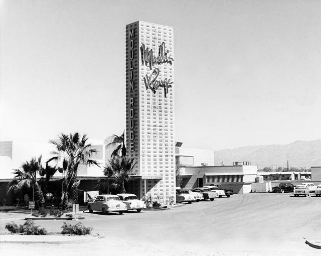 Moulin Rouge May 1955  (Courtesy Las Vegas News Bureau)