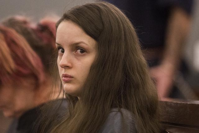 Anne Osburn as see Wednesday, Sept. 18, 2013 in Regional Justice Center. (Jeff Scheid/Las Vegas Review-Journal)