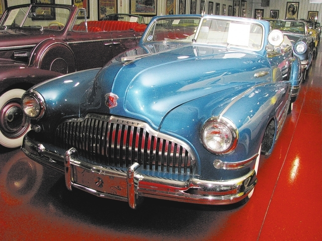 Jim Rogers has about 300 vehicles in his collection on Classic Car Lane. (F. Andrew Taylor/View)
