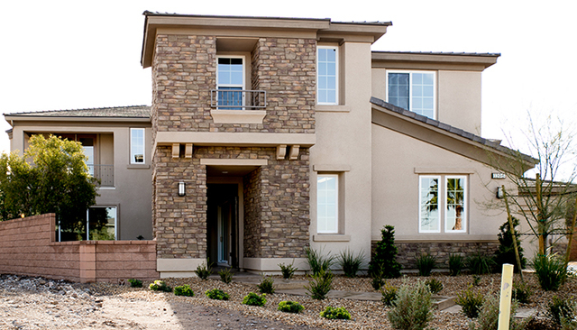 Tonya Harvey/Real Estate Millions  Touchstone home in MacDonald Highlands, a Henderson luxury community.