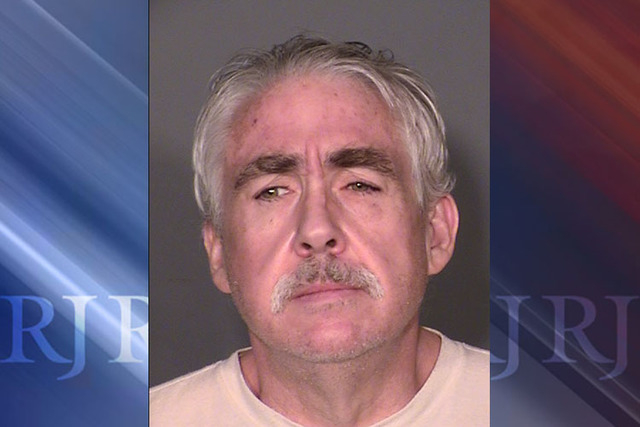 Robert Dunn, 52, has been indicted on two counts of murder, two counts of robbery and 11 counts of theft in the deaths of Joaquin Sierra and Eleanor Sierra. (Las Vegas Metropolitan Police Department)