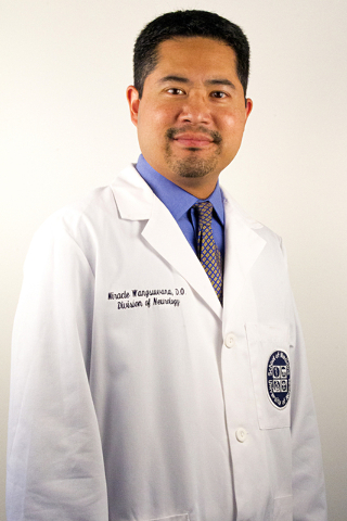 University of Nevada School of Medicine neurologist Dr. Miracle Wangsuwana (Courtesy)