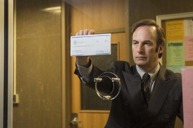 "Bob Odenkirk as Saul Goodman in ""Better Call Saul."" (Courtesy, AMC)"