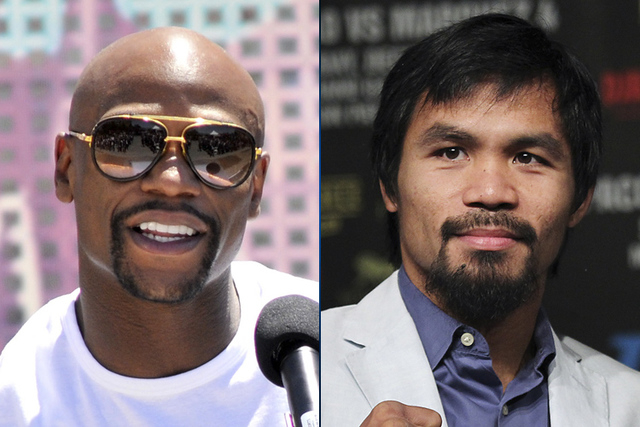 A long-awaited fight between Floyd Mayweather and Manny Pacquiao may be closer to becoming a reality. (Review-Journal File)