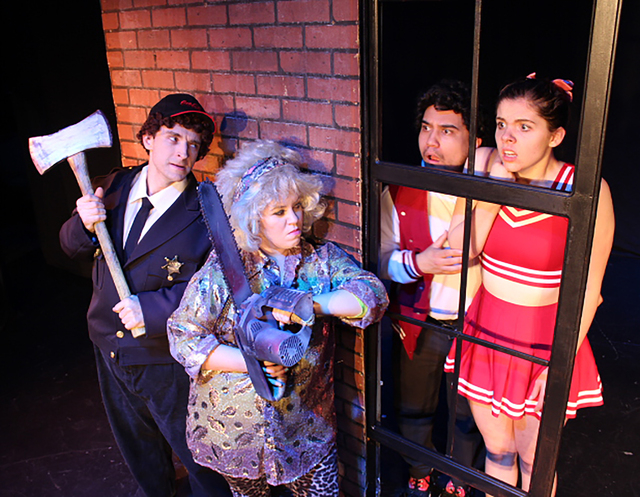 """""""The Weird"""" is a series of short plays that explore comedy and horror as a way to giving meaning. It is being presented at the Onyx Theatre through March 7. (Courtesy)"""