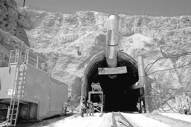 Yucca Mountain (Jessica Ebelhar/Las Vegas Review-Journal file)