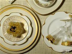 Personal style redefines tradition for engaged couples choosing tableware