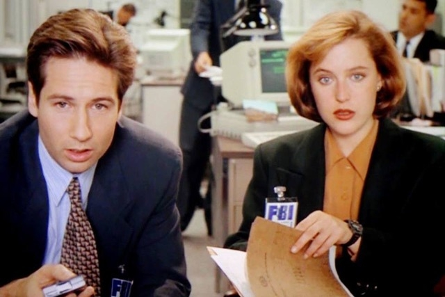"David Duchovny and Gillian Anderson will reprise their FBI agent roles in a limited return of ""The X-Files. (Courtesy/X-Files/Facebook)"