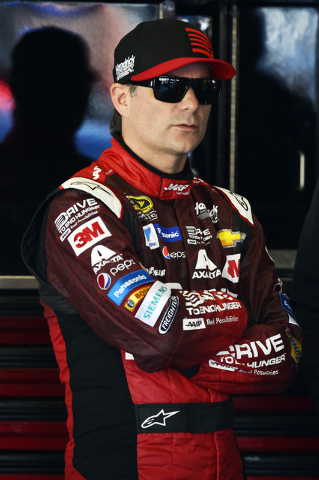 Feb 20, 2015; Daytona Beach, FL, USA; NASCAR Sprint Cup Series driver Jeff Gordon (24) during practice for the Daytona 500 at Daytona International Speedway. Mandatory Credit: Jasen Vinlove-USA TO ...