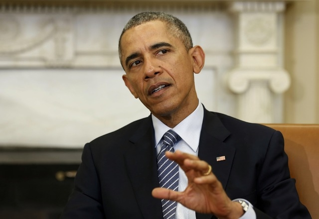 U.S. President Barack Obama on February 27, 2015. (Larry Downing/Reuters)