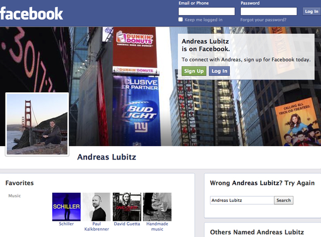 A screenshot shows a Facebook page of co-pilot Andreas Lubitz, March 26, 2015. The co-pilot suspected of deliberately crashing a Germanwings jet into the French Alps on Tuesday has been identified ...