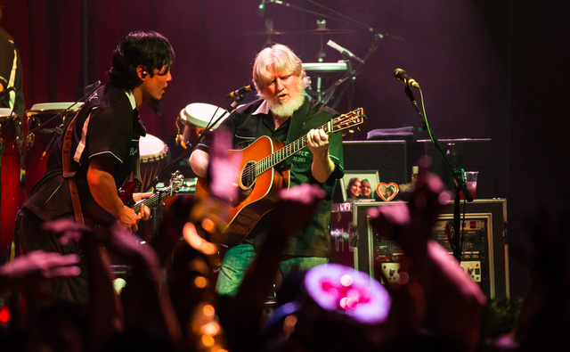 The String Cheese Incident at Brooklyn Bowl Las Vegas at The Linq in Las Vegas, NV on February 13, 2015. (Courtesy, Erik Kabik/Retna Ltd.)