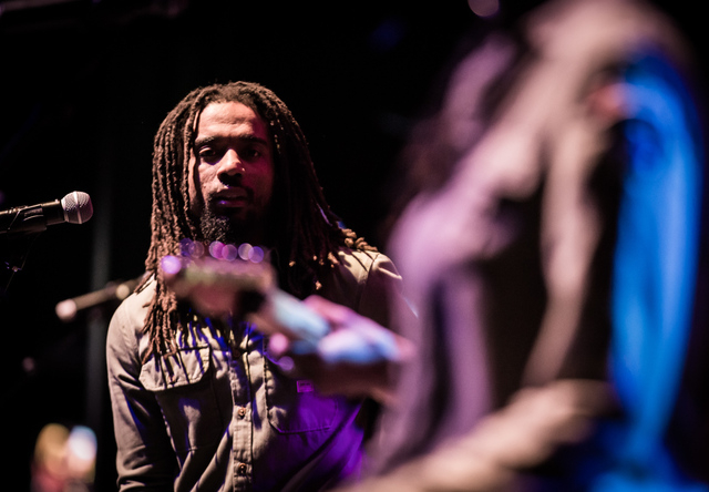 The Wailers perform at Brooklyn Bowl Las Vegas at The Linq in Las Vegas, NV on February 2, 2015. (Courtesy, Erik Kabik/Retna Ltd.)