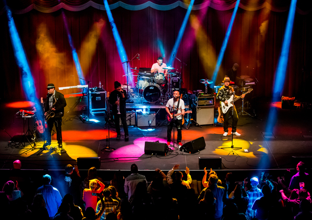 Ozomatli at Brooklyn Bowl in Las Vegas, NV on March 1, 2015. (Courtesy, Erik Kabik/Retna Ltd.)