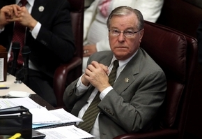 Sen. David Parks, D-Las Vegas