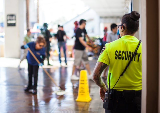 Las vegas strip security