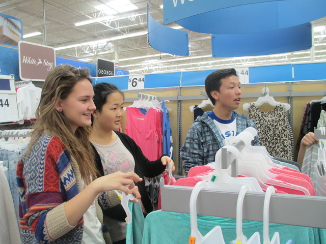 The Assistance League of Las Vegas' Assisteens group raised funds for the nonprofit Operation School Bell at the ALLV Thrift Shop, 6446 W. Charleston Blvd, March 15, 2015, through the group's  ...