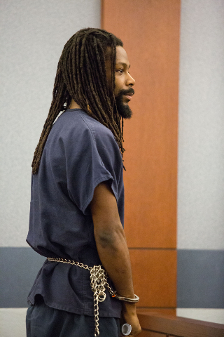 Kirk Bills, 27, appears in court during his arrest warrant hearing at the Regional Justice Center on Friday.Bills was ordered to serve 4 to 10 years in prison Monday for his role in the Prince and ...