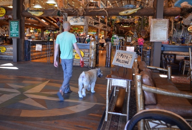 Pets are always welcome at Bass Pro Shops, 8200 Dean Martin Drive. (Ginger Meurer/View)