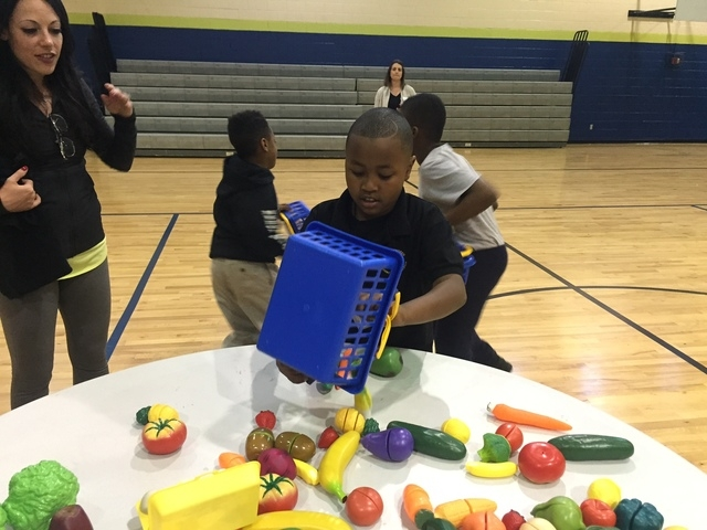 The Andre Agassi Boys & Girls Club, 800 N. Martin Luther King Blvd., hosted a Kids in the Kitchen event Feb. 26 with Downtown Grand executive chef Daniel Galan and Junior League of Las Vegas. Juni ...