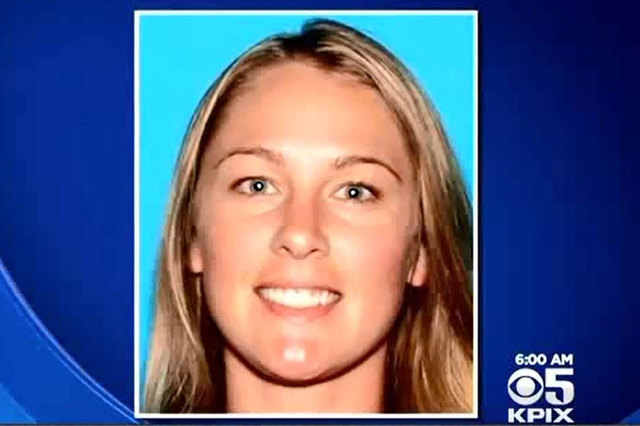 "According to her boyfriend, Denise Huskins was ""forcibly taken"" from the home in Vallejo, California, early on Monday morning. (Screengrab/CBS San Francisco)"