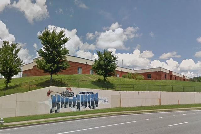 Centennial High School in Roswell, Georgia (Google Street View)