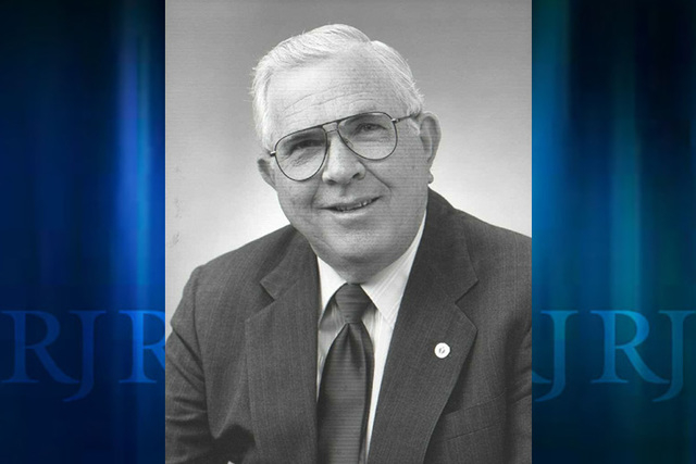Longtime Las Vegas public servant Paul Christensen passed away Sunday at the age of 82. (Courtesy)