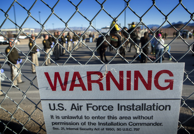 Anti-drone protesters arrested at Creech Air Force Base | Las Vegas