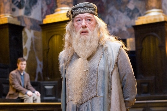 """Albus Dumbledore from the """"Harry Potter"""" series (Warner Bros. Pictures)"""