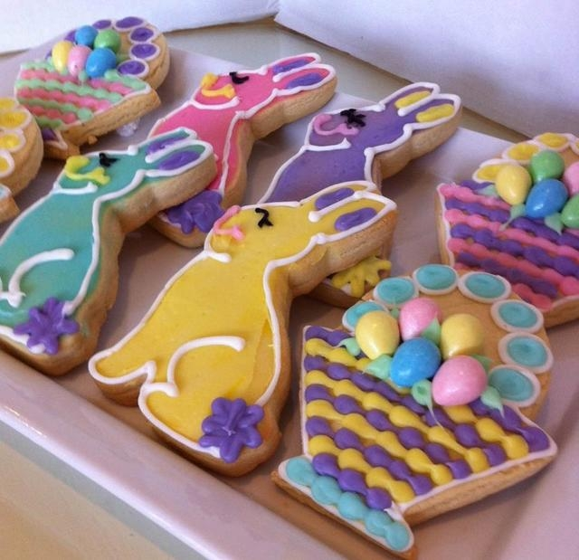 Wonderland Bakery at Downtown Summerlin, 2010 Festival Plaza Drive, No. 150, plans to host Easter cookie decorating classes March 30-April 3. (Special to View)