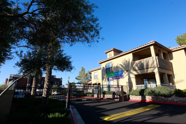 Three people were killed and two others were wounded in a shooting late Tuesday night, March 3, 2015, at the Broadstone Talavera apartment complex at Fort Apache Road and Sahara Avenue. (Chase Ste ...