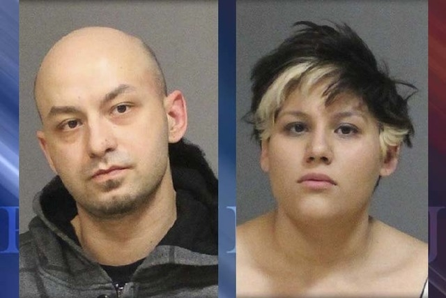 Ingrid Walczyk (R), 29, and 32-year-old William Kulas (L), both of Farmington, Conn., were arrested last week on Walkley Road. (Courtesy, West Hartford Police Department)
