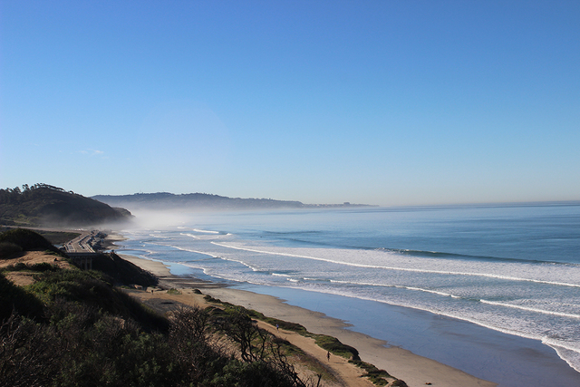 Great beaches can be found throughout San Diego, such as this one in Del Mar found along Historic Highway 101. (DEBORAH WALL/SPECIAL TO VIEW) CLICK THE IMAGE FOR ANOTHER PHOTO.