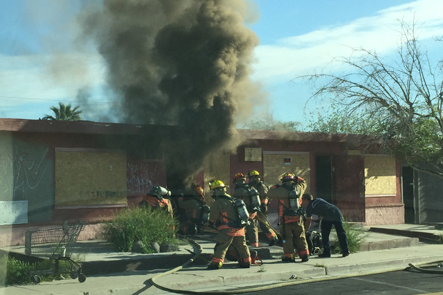 (Courtesy Timothy R Szymanski/ Las Vegas Fire & Rescue)