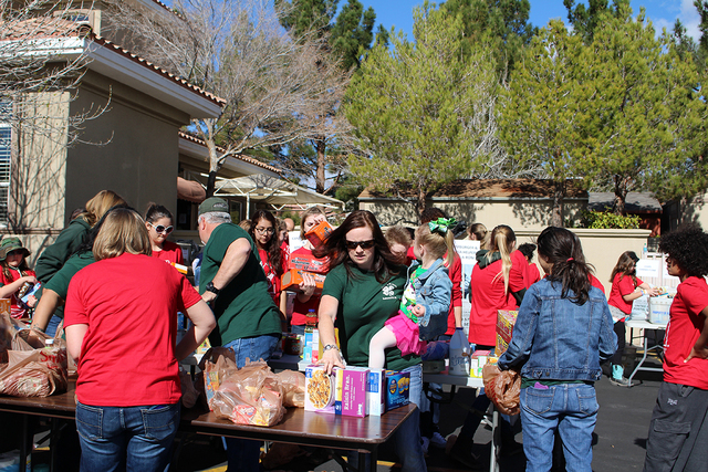On Jan. 31, the Las Vegas community donated more than 18,000 pounds of food and supplies for the 14th annual Food Drive for Ronald McDonald House Charities of Greater Las Vegas. Residents donated  ...