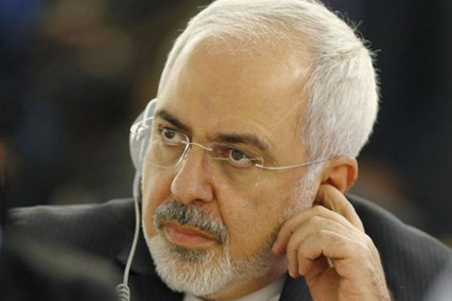 Iranian Foreign Minister Mohammad Javad Zarif attends the 28th Session of the Human Rights Council at the United Nations in Geneva, Tuesday, March 2, 2015. (Reuters/Denis Balibouse)