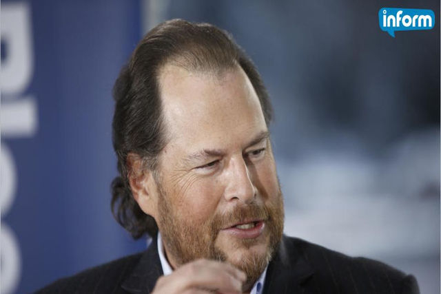 Salesforce CEO Marc Benioff is taking a strong stand against a controversial Indiana bill signed into law Thursday that could allow businesses to turn away LGBT customers in the name of religious  ...