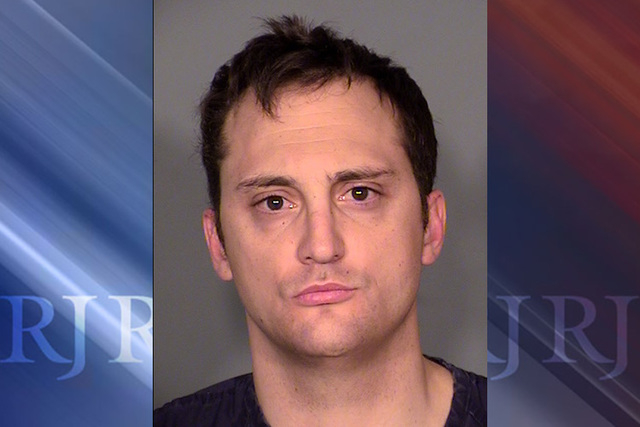 Joseph Lawrance, 31, a former Henderson police officer accused of driving the wrong way down U.S. Highway 95 while off duty was sentenced to up to four years probation Wednesday. (Courtesy Las Veg ...