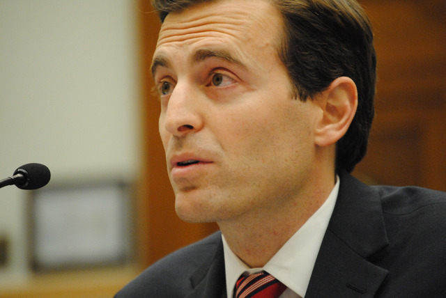 Nevada Attorney General Adam Laxalt testifies before the House Judiciary Committee on Wednesday. (Peter Urban/Stephens Washington Bureau)