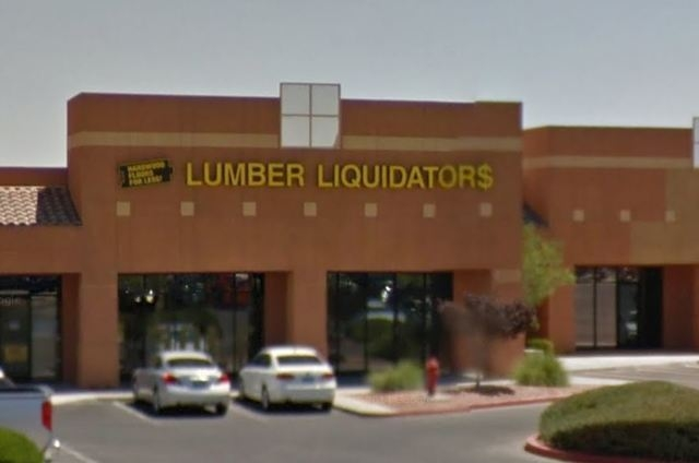 Lumber Liquidators has 352 stores in the U.S. and Canada, including one in Las Vegas and one in Henderson. (Screengrab, Google Maps)