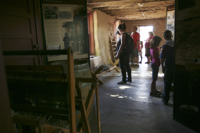 An Old Fort Mineral and Gem Dig is planned from 10 a.m. to noon March 28 at the Old Las Vegas Mormon Fort State Historic Park, 500 E. Washington Ave. Participants can learn about native Nevada roc ...